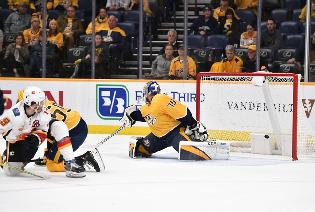 Calgary Flames vs. Nashville Predators - 2/6/20 NHL Pick, Odds, and Prediction