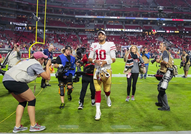 San Francisco 49ers vs. Arizona Cardinals - 11/17/19 NFL Pick, Odds, and Prediction