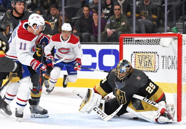 Montreal Canadiens vs. Vegas Golden Knights - 1/18/20 NHL Pick, Odds & Prediction