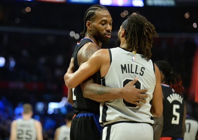 San Antonio Spurs Vs Los Angeles Clippers 11 29 19 Nba