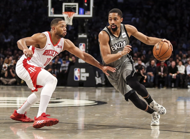 Houston Rockets vs. Brooklyn Nets - 12/28/19 NBA Pick, Odds, and Prediction