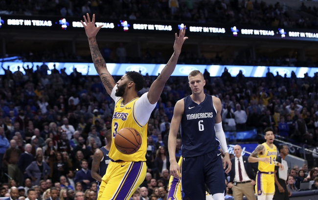 Los Angeles Lakers vs. Dallas Mavericks - 12/1/19 NBA Pick ...