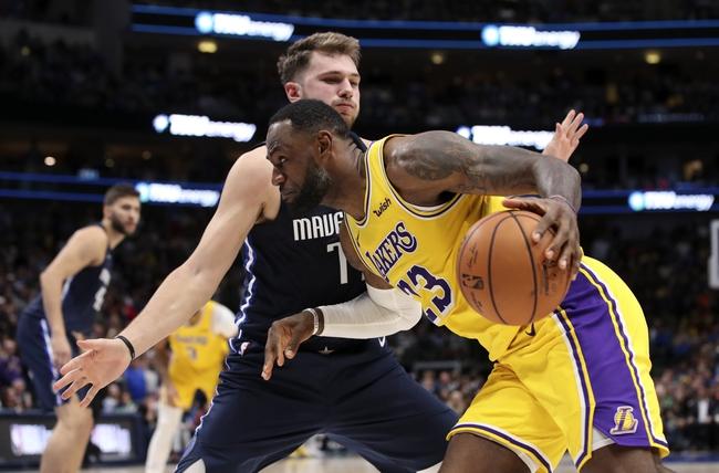 Los Angeles Lakers Vs Dallas Mavericks 12 1 19 Nba Pick