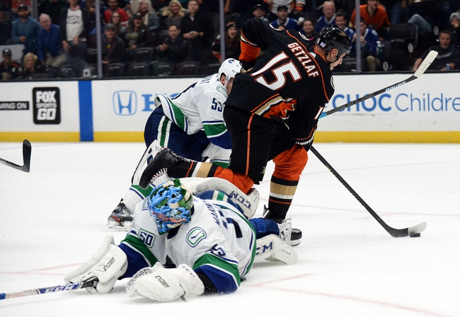 Vancouver Canucks vs. Anaheim Ducks - 2/16/20 NHL Pick, Odds, and Prediction
