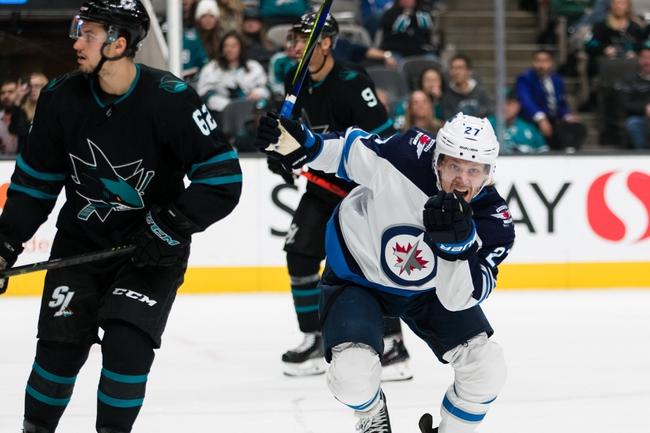 San Jose Sharks vs. Winnipeg Jets - 11/27/19 NHL Pick, Odds, and Prediction