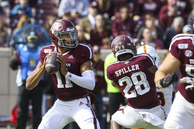 Texas A&M vs. South Carolina - 11/16/19 College Football Pick, Odds, and Prediction