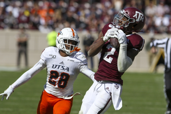 CFB Pick: UTSA  vs. Middle Tennessee - 9/25/20 College Football Pick, Odds, and Prediction