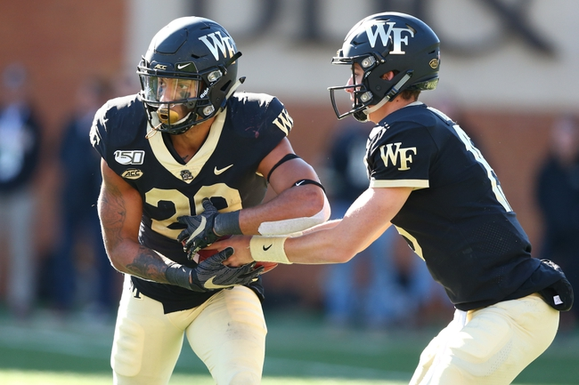Wake Forest at Virginia Tech 11/9/19 - College Football Picks & Predictions