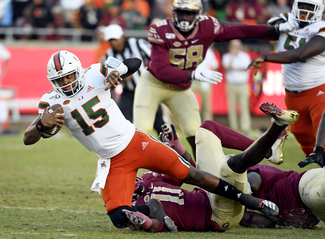 Miami (FL) vs. Louisville - 11/9/19 College Football Pick, Odds, and Prediction