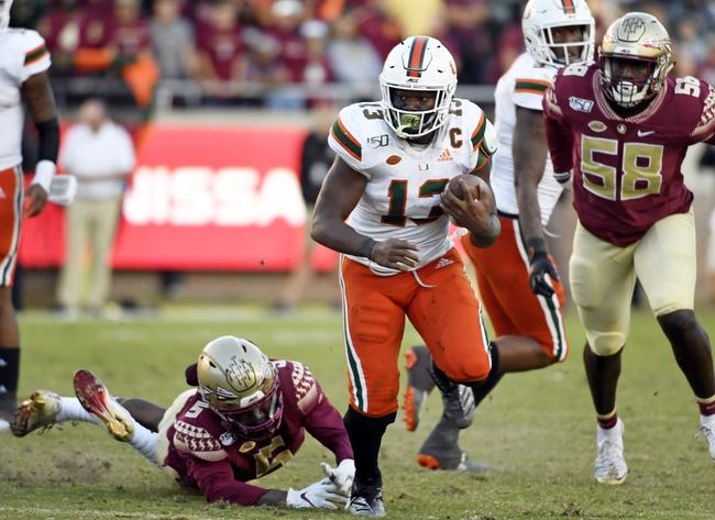 CFB Picks: Miami vs. Florida State College Football Picks, Predictions, Odds 9/26/20