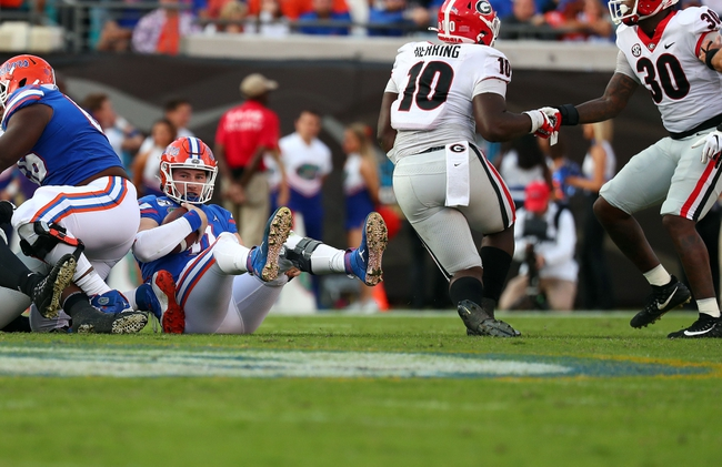 Georgia vs. Florida - 10/31/20 Early Look College Football GOY Pick, Odds, and Prediction