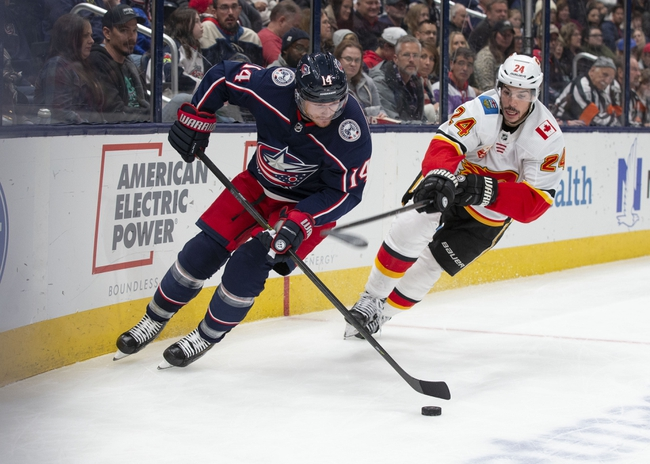Calgary Flames vs. Columbus Blue Jackets - 3/4/20 NHL Pick, Odds, and Prediction