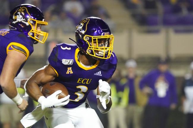 East Carolina vs. Tulsa - 11/30/19 College Football Pick, Odds, and Prediction