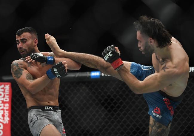 Josh Emmett vs. Shane Burgos - 6/20/20 UFC Fight Night 173 Pick and Prediction