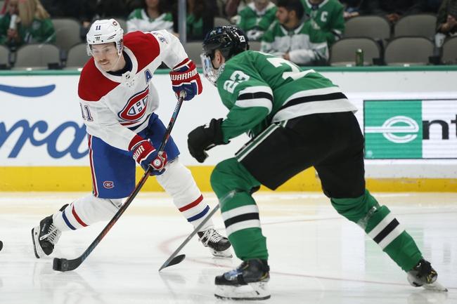 Montreal Canadiens vs. Dallas Stars - 2/15/20 NHL Pick, Odds & Prediction