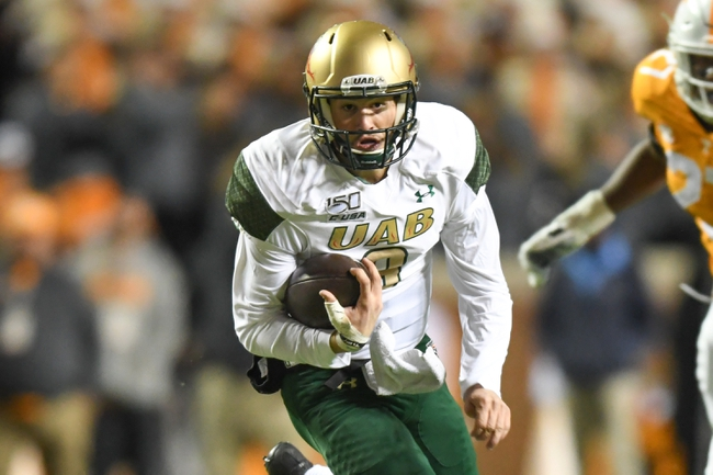 UAB Blazers vs. Louisiana Tech Bulldogs - 11/23/19 College Football Pick, Odds, and Prediction
