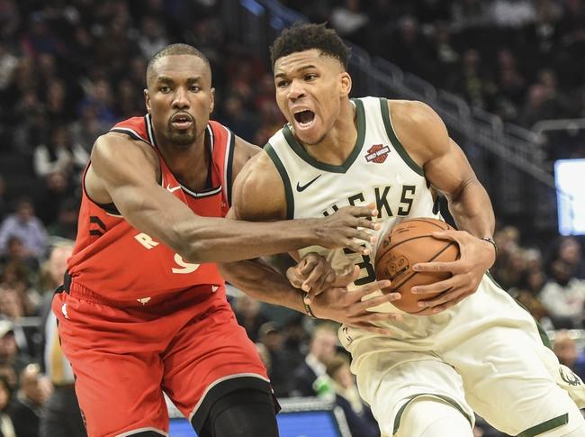 Toronto Raptors vs. Milwaukee Bucks - 2/25/20 NBA Pick, Odds, and Prediction