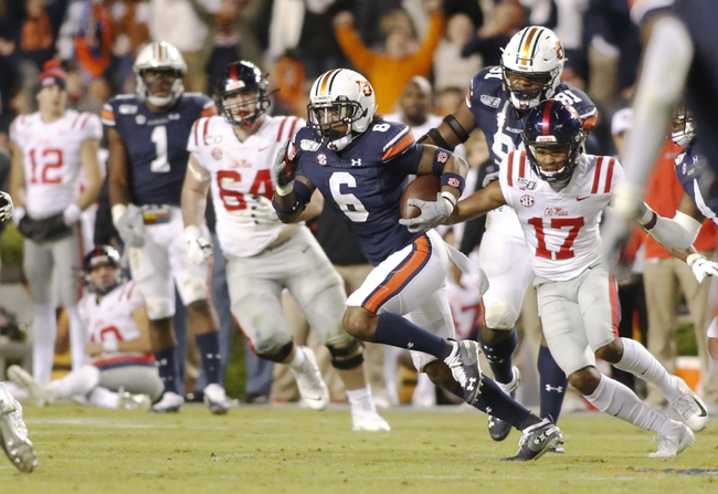 Auburn at Ole Miss - 9/19/20 Early look College Football GOY Picks and Predictions