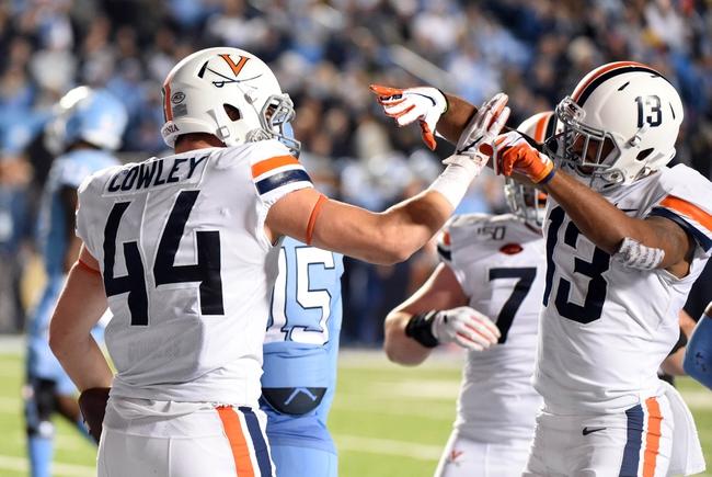 Duke at Virginia - 9/26/20 College Football Picks and Prediction