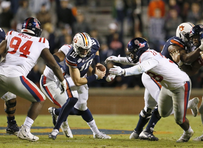 Auburn vs. Ole Miss - 9/19/20 Early Look College Football GOY Pick, Odds, and Prediction