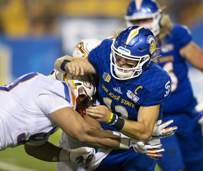 UNLV Rebels vs. San Jose State Spartans - 11/23/19 CFB Pick, Odds, and Prediction