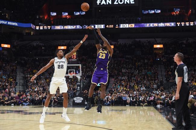 San Antonio Spurs vs. L.A. Lakers - 11/25/19 NBA Pick, Odds, and Prediction