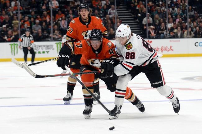Chicago Blackhawks vs. Anaheim Ducks - 1/11/20 NHL Pick, Odds & Prediction