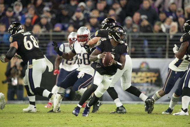 SNF: New England Patriots vs Baltimore Ravens 11/15/20 NFL Picks, Odds, Predictions