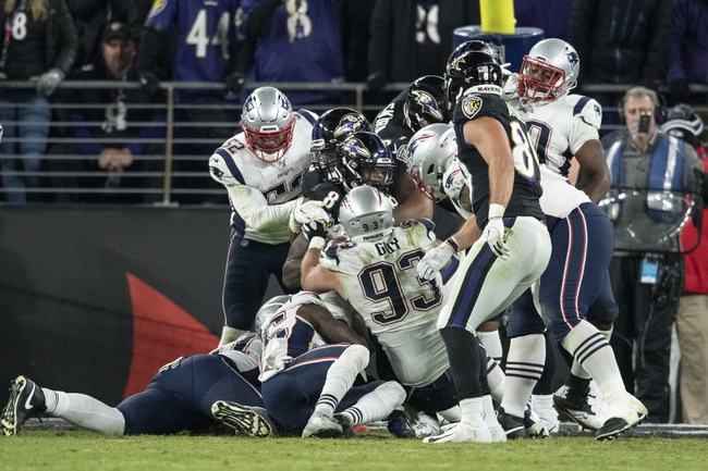 Baltimore Ravens at New England Patriots 11/15/20 NFL Picks and Predictions