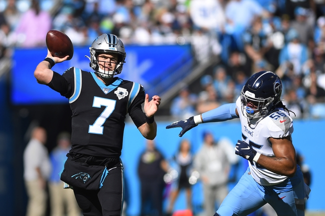 Carolina Panthers at Green Bay Packers - 11/10/19 NFL Pick, Odds, and Prediction