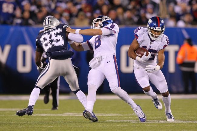 New York Giants at Dallas Cowboys 10/11/20 NFL Picks and Predictions