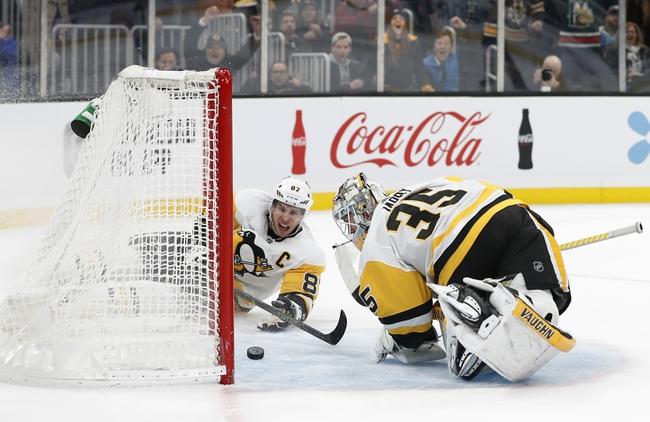 Boston Bruins vs. Pittsburgh Penguins - 1/16/20 NHL Pick, Odds & Prediction