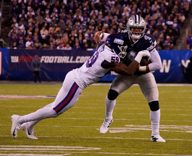 Dallas Cowboys vs. New York Giants - 5/9/20 Madden 20 Sim Classic NFL Pick, Odds, and Prediction