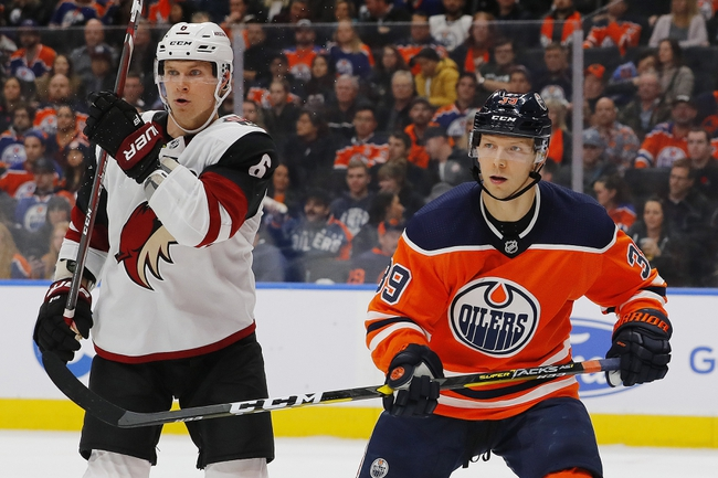 Arizona Coyotes vs. Edmonton Oilers - 11/24/19 NHL Pick, Odds, and Prediction
