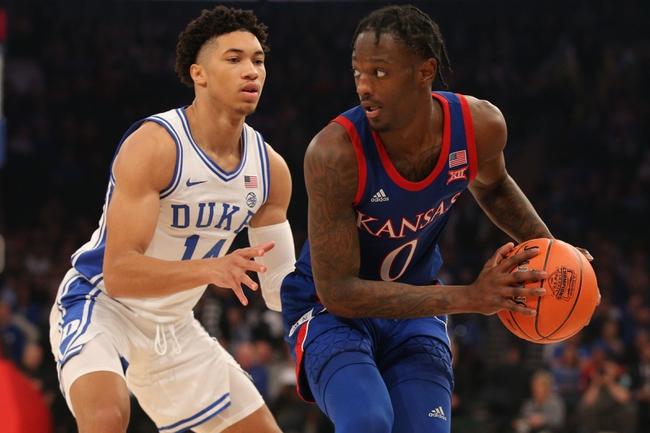 Kansas vs. North Carolina Greensboro - 11/8/19 College Basketball Pick, Odds, and Prediction
