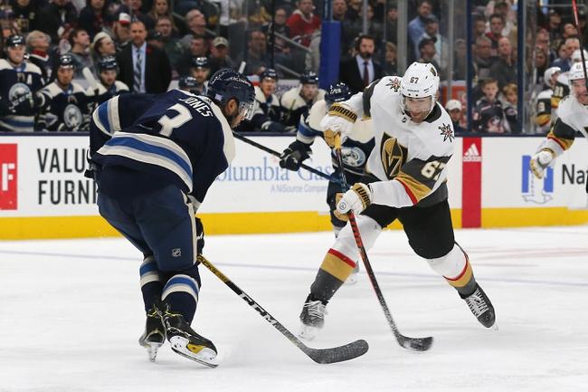 Vegas Golden Knights vs. Columbus Blue Jackets - 1/11/20 NHL Pick, Odds & Prediction