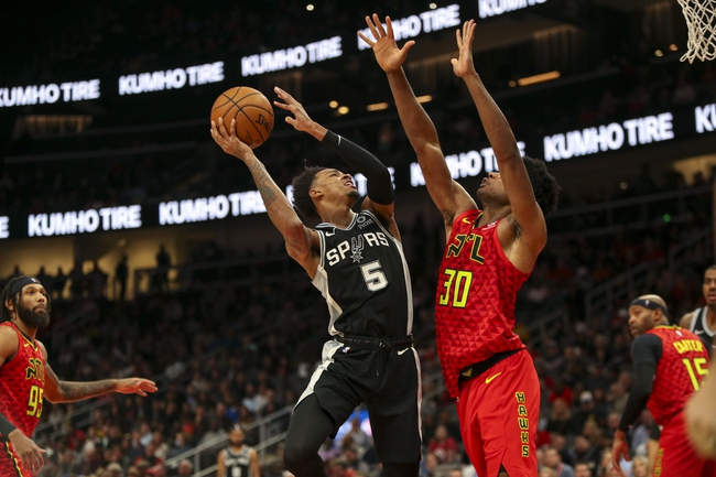 San Antonio Spurs vs. Atlanta Hawks - 1/17/20 NBA Pick, Odds & Prediction