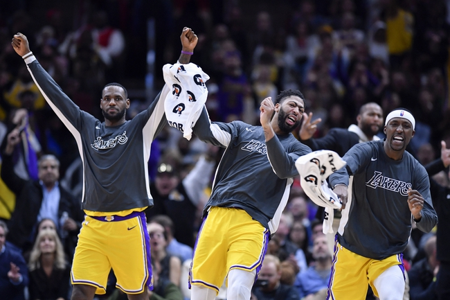 Los Angeles Lakers vs. Toronto Raptors - 11/10/19 NBA Pick, Odds, and Prediction
