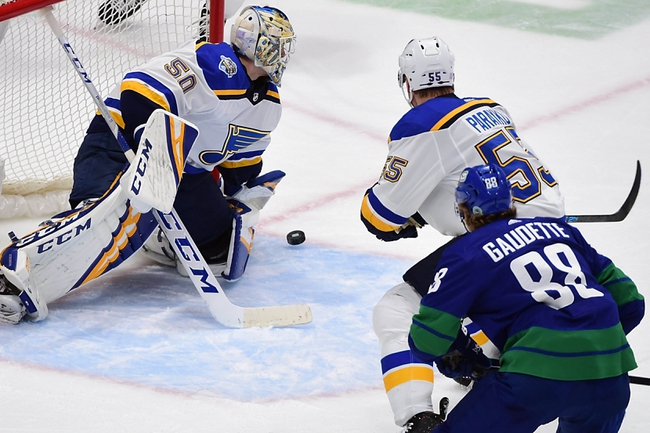 Vancouver Canucks vs. St. Louis Blues - 1/27/20 NHL Pick, Odds, and Prediction