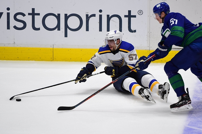 Vancouver Canucks vs. St. Louis Blues - 1/27/20 NHL Pick, Odds & Prediction