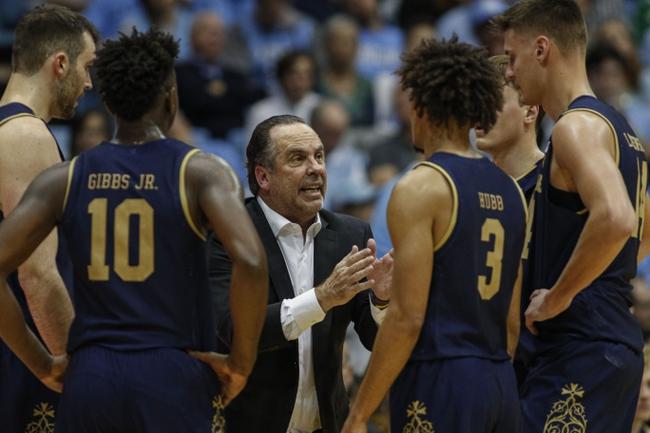 Notre Dame vs. North Carolina - 2/17/20 College Basketball Pick, Odds, and Prediction