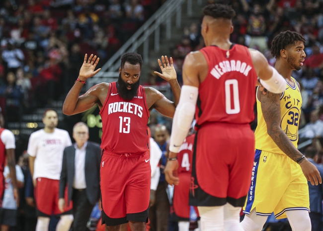 Golden State Warriors vs. Houston Rockets - 12/25/19 NBA Pick, Odds, and Prediction