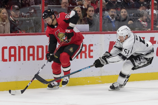 Los Angeles Kings vs. Ottawa Senators - 3/11/20 NHL Pick, Odds, and Prediction