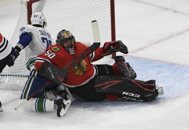 Vancouver Canucks vs. Chicago Blackhawks - 1/2/20 NHL Pick, Odds & Prediction