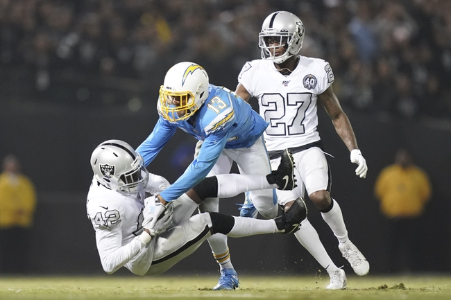 Los Angeles Chargers vs. Oakland Raiders - 12/22/19 NFL Pick, Odds, and Prediction