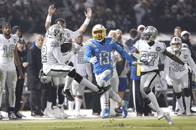 Oakland Raiders at Los Angeles Chargers - 12/22/19 NFL Pick, Odds, and Prediction