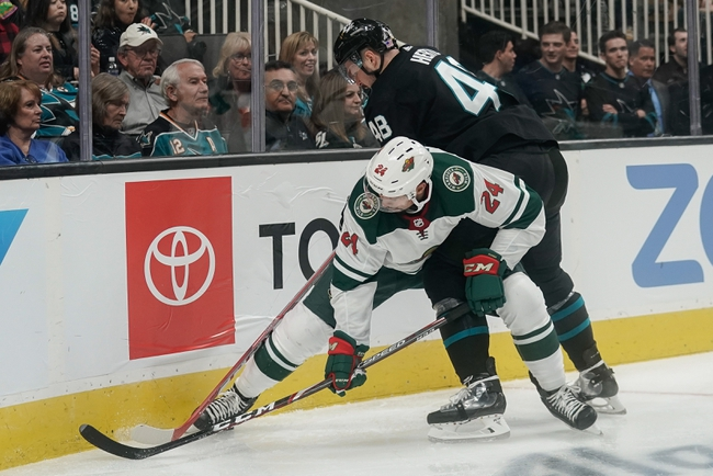 Minnesota Wild vs. San Jose Sharks - 2/15/20 NHL Pick, Odds, and Prediction