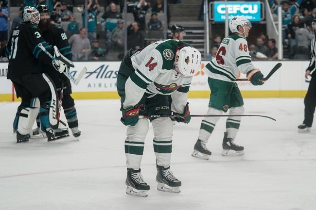 Minnesota Wild vs. San Jose Sharks - 2/15/20 NHL Pick, Odds & Prediction