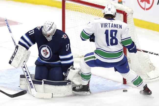 Winnipeg Jets vs. Vancouver Canucks - 1/14/20 NHL Pick, Odds & Prediction