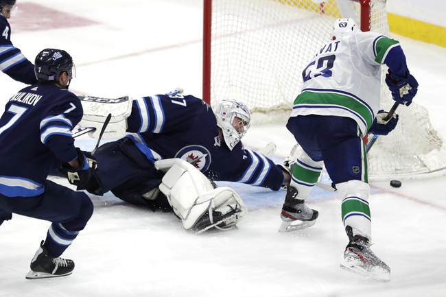 Winnipeg Jets vs. Vancouver Canucks - 1/14/20 NHL Pick, Odds, and Prediction